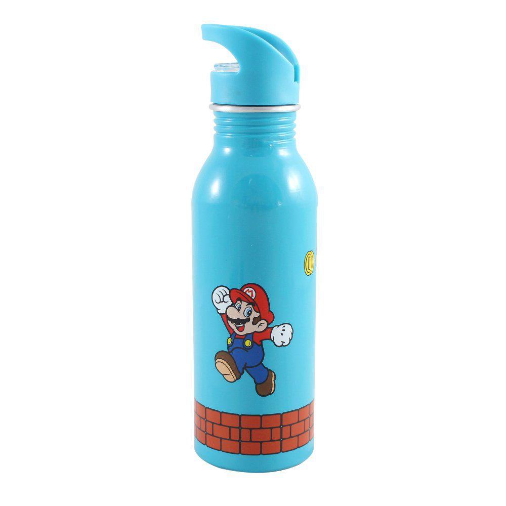 Garrafa de Alumínio Mario: Super Mario - (600ML)