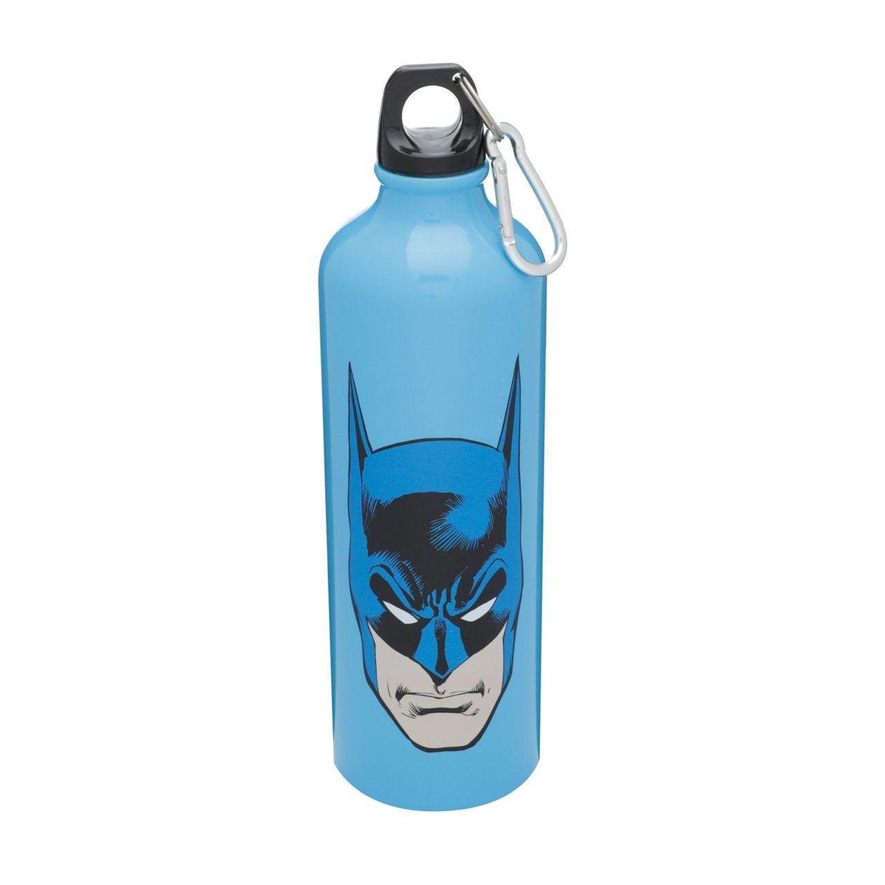 Garrafa de Alumínio Rosto Batman (Azul) 750ml - Urban