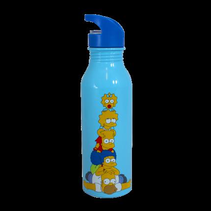 Garrafa de Alumínio Simpsons Família - (600ML)