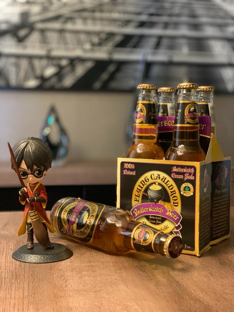 Garrafa de cerveja Amanteigada: Harry Potter