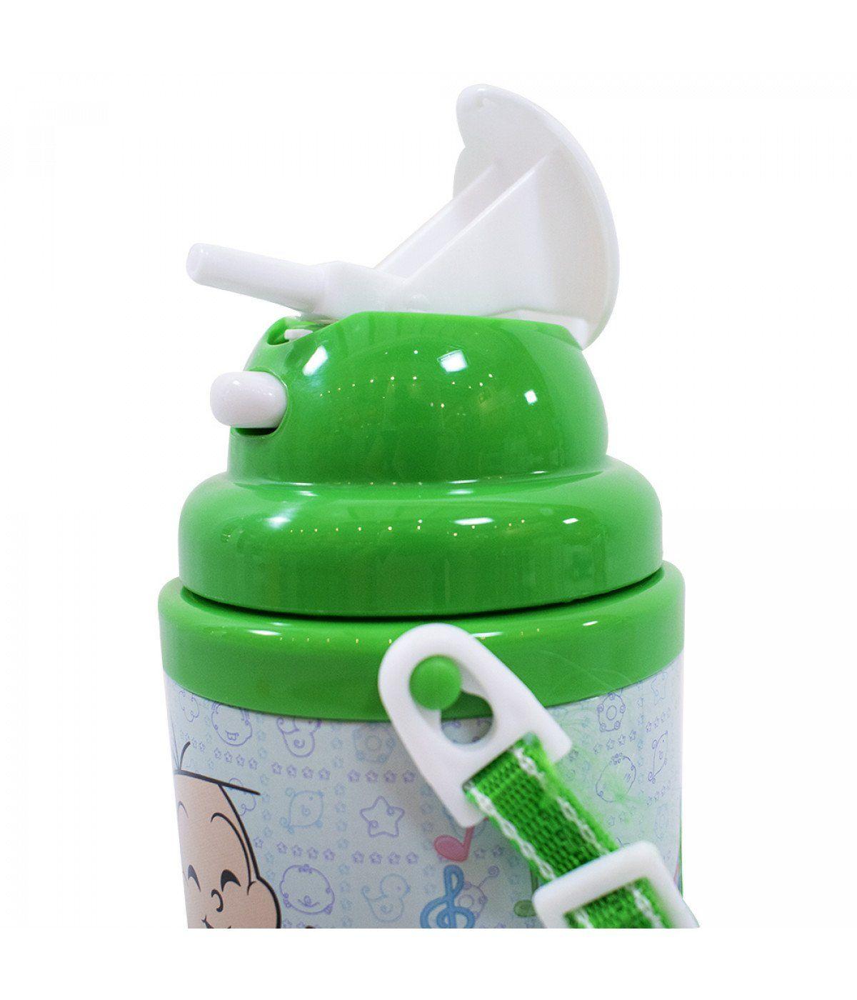 Garrafa de Plástico Pequena Cebolinha: Turma da Mônica