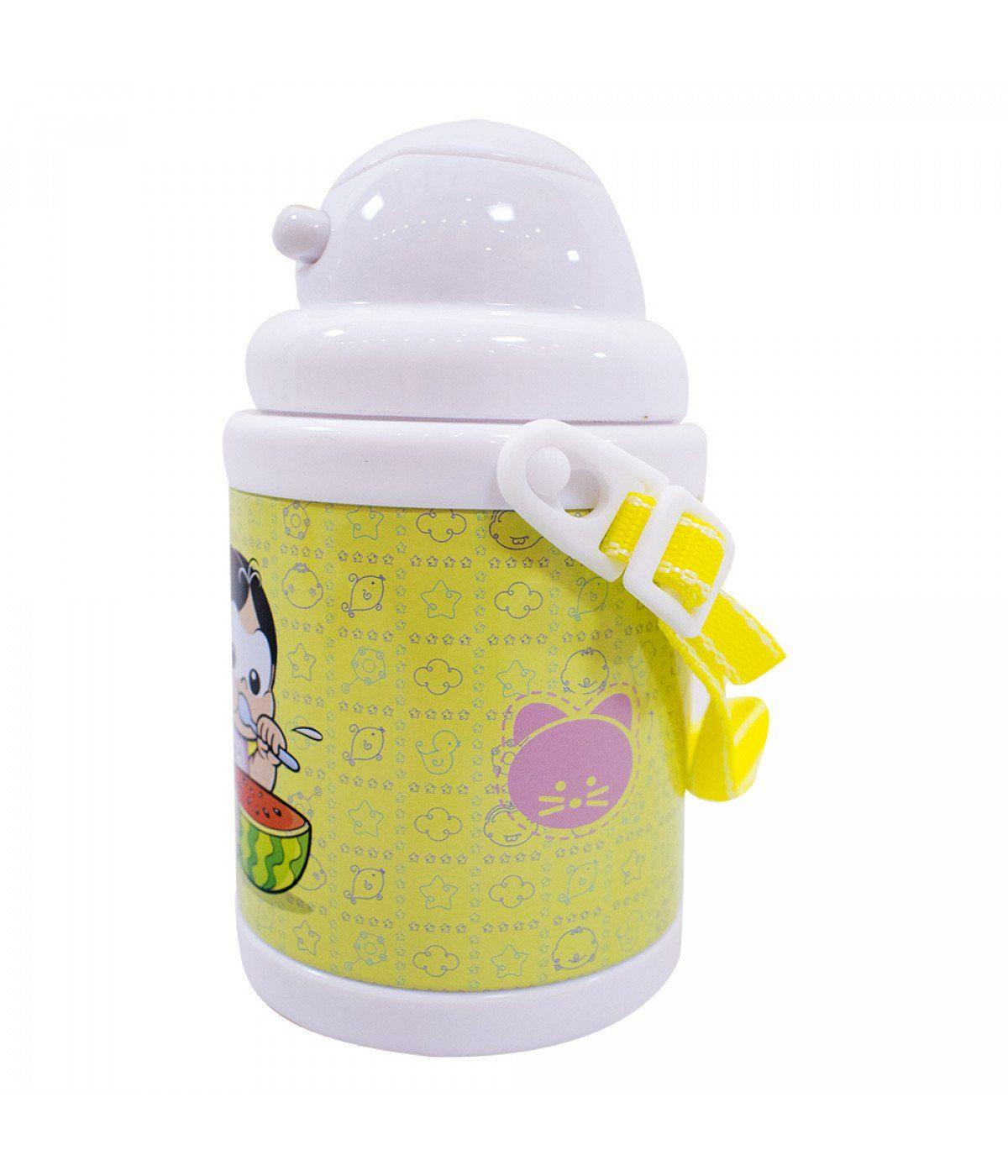 Garrafa de Plástico Pequena Magali: Turma da Mônica