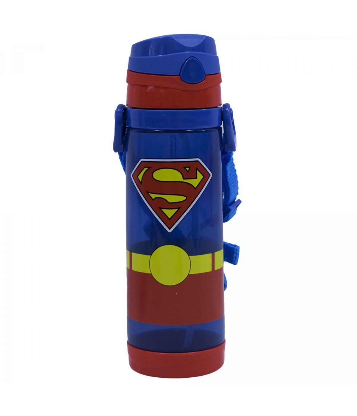 Garrafa de Plástico Super-Homem: DC Super Friends