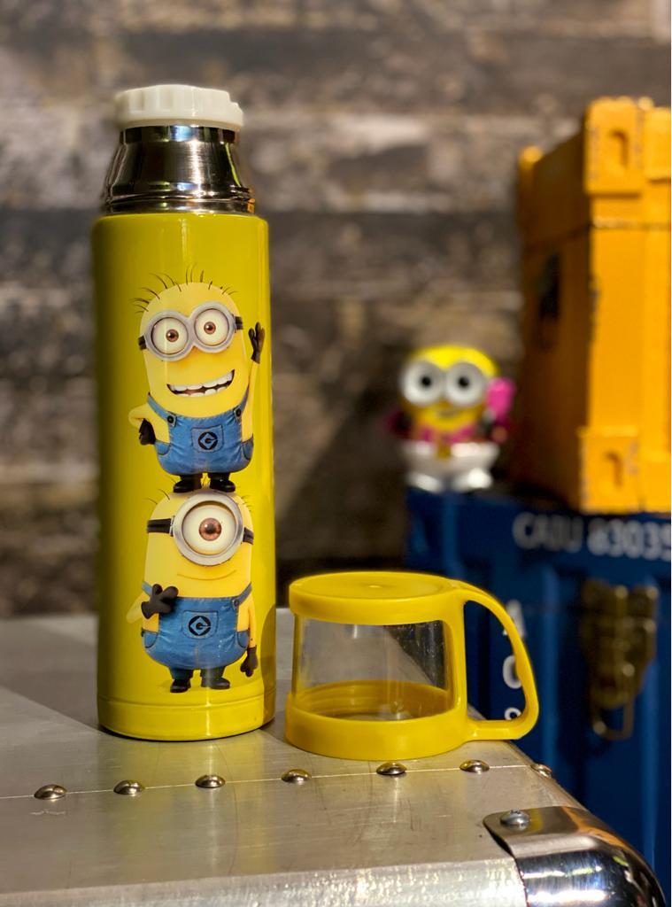 Garrafa Plástica Bob e Stuart: Minions (400ml) - Urban