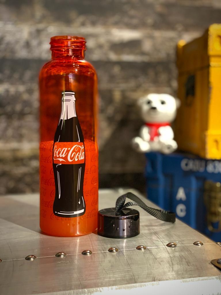 Garrafa Plástica De Viagem Coca Cola 500ml - Urban