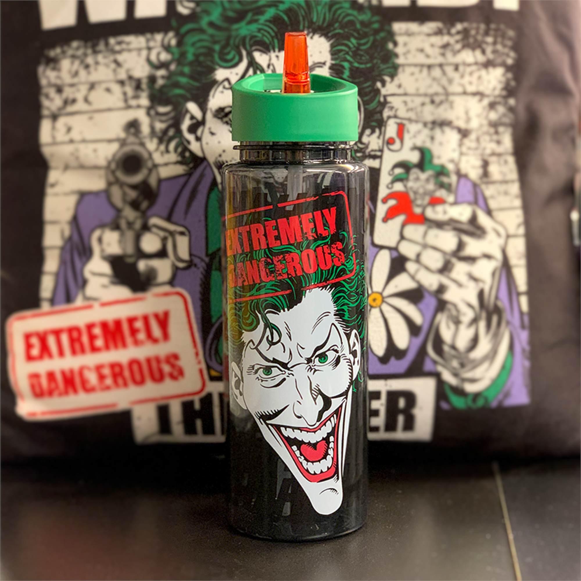 Garrafa Plástica Squeeze Coringa Joker: DC Comics 600ml - Urban