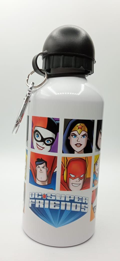 Garrafa (Squeeze) Alumínio DC Super Friends (Super Amigos): DC Comics 500ml