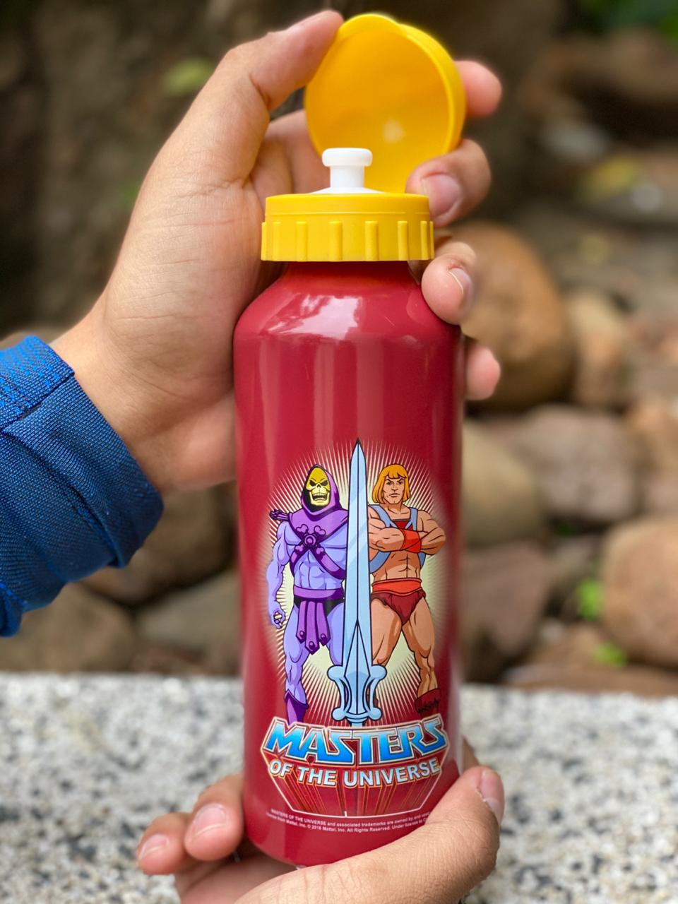 Garrafa (Squeeze) Alumínio He-Man & Skeletor: Mestres do Universo (Master Of The Universe) 500ml - Urban