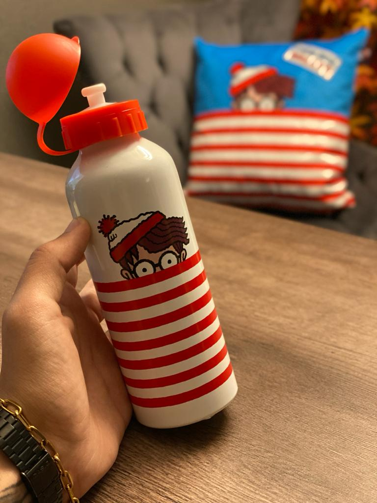 Garrafa (Squeeze) Alumínio Wally: Onde Está Wally? (Where is Wally) 500ml - Urban