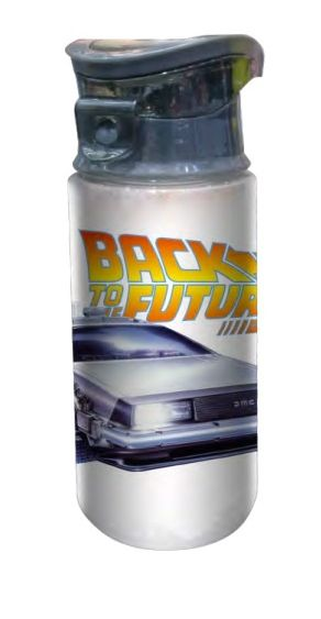 Garrafa (Squeeze) De Volta Para o Futuro (Back to the Future) - 360ML