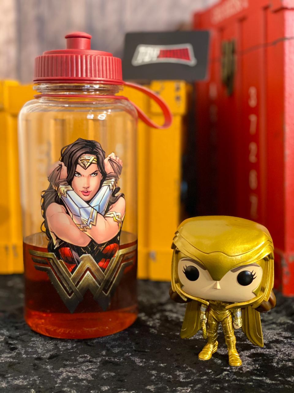 Garrafa (Squeeze) Mulher Maravilha: (Wonder Woman Movie)  - 1L