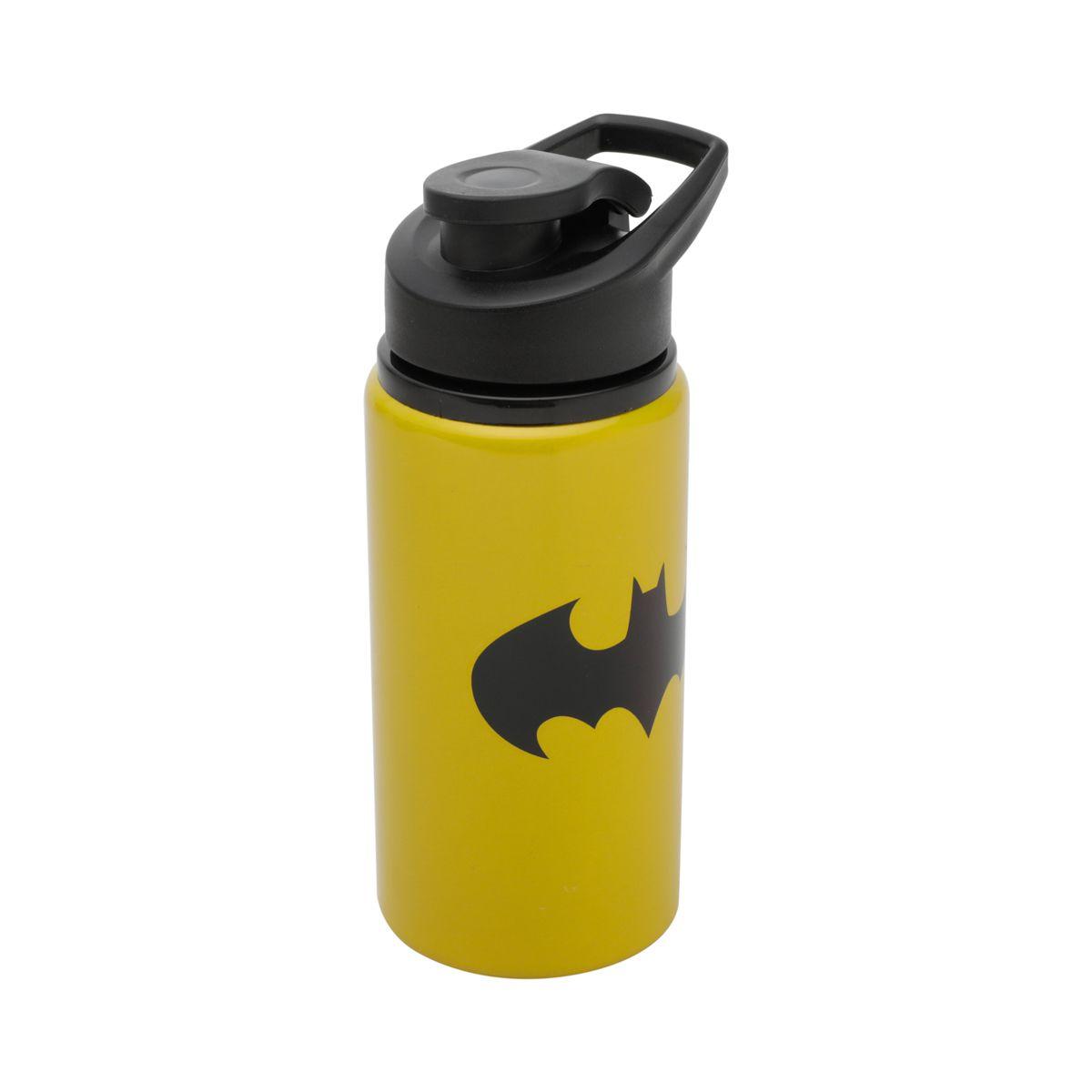 Garrafa Térmica de Alumínio Logo Batman: DC Comics - 500ML