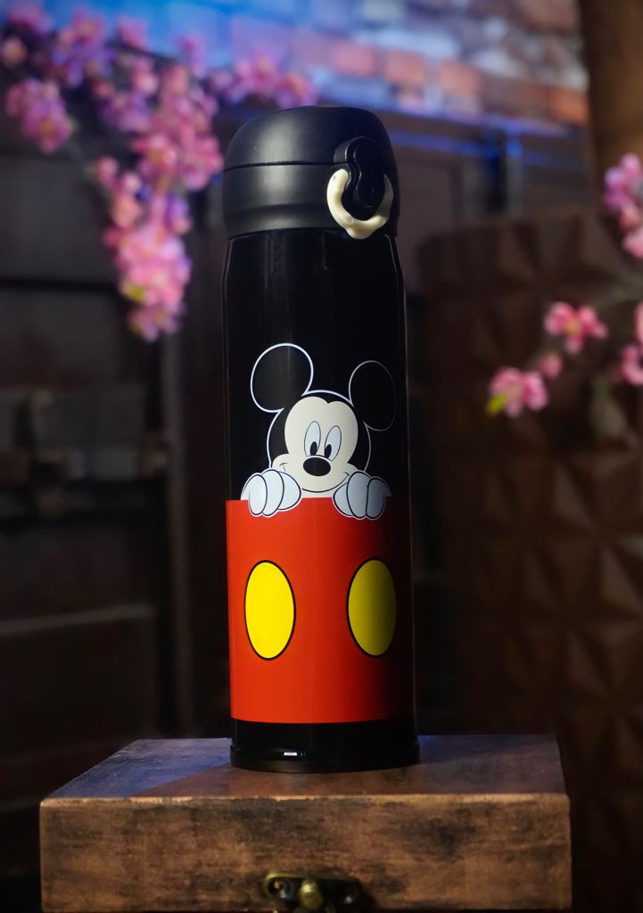 Garrafa Térmica Mickey Mouse: Mickey e Minnie - Disney - 400ML