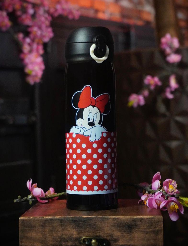Garrafa Térmica Minnie Mouse: Mickey e Minnie - Disney - 400ML