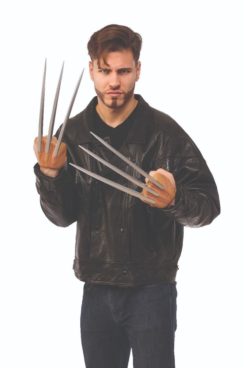Garras Wolverine: Marvel Classic (Acessório Fantasia) - Rubies Costume - CD