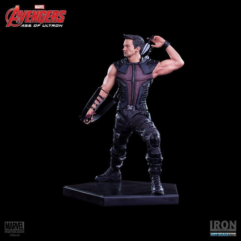 Estátua Gavião Arqueiro (Hawkeye): Vingadores: Era de Ultron Escala 1/10 - Iron Studios - CD