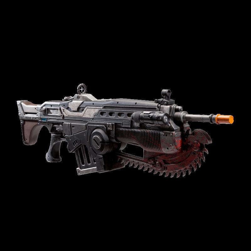 Réplica Lancer: Gears of War 4 Prop Customized Escala 1/1 - PDP