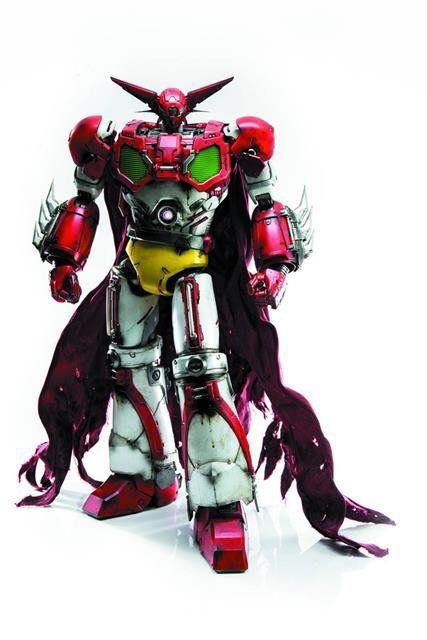 PRÉ VENDA: Boneco Getter Robo: Getter 1 - Threezero SD