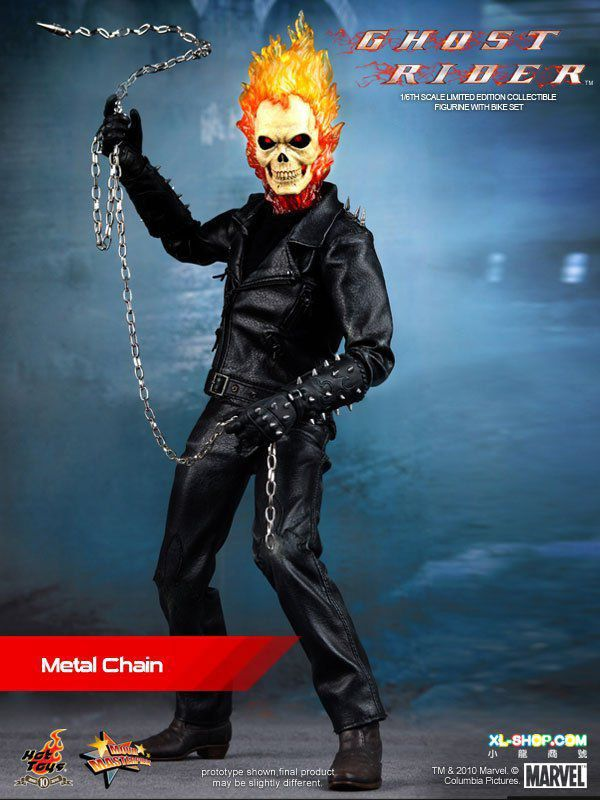 Ghost Rider (Motoqueiro Fantasma) Escala 1/6 - Hot Toys