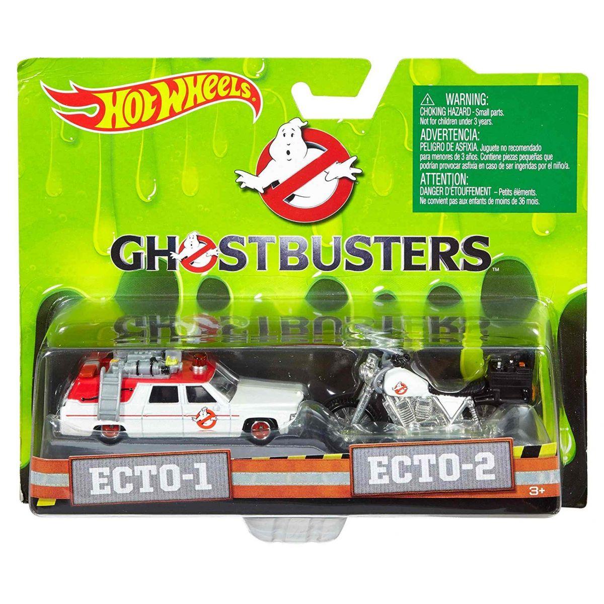 Ghostbusters (Caça-Fantasmas) Ecto-1 e Ecto-2 - Mattel