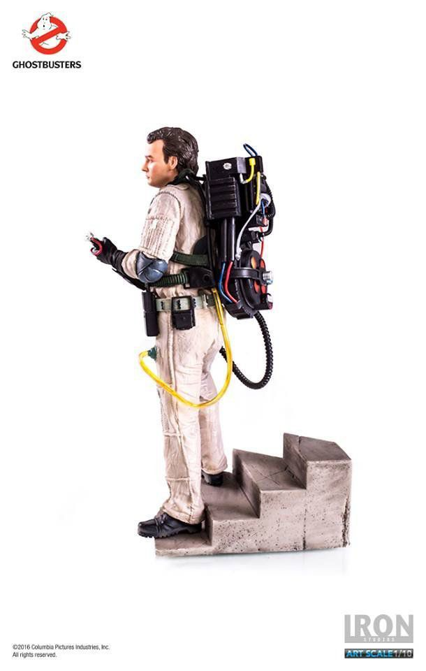 Estátua Peter Venkman: Ghostbusters (Caça Fantasmas) Escala 1/10 - Iron Studios