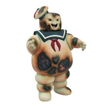 Ghostbusters Stay Puft Marshmallow Man Bank Burnt - Diamond