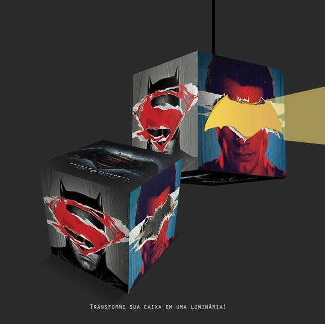 Gift Box Batman Vs Superman - Luminária