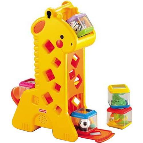 Girafa Pick-a-Blocks (4 Blocos) - Fisher-Price