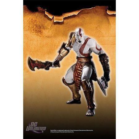 God Of War 3 Series 01 Kratos - Dc Direct