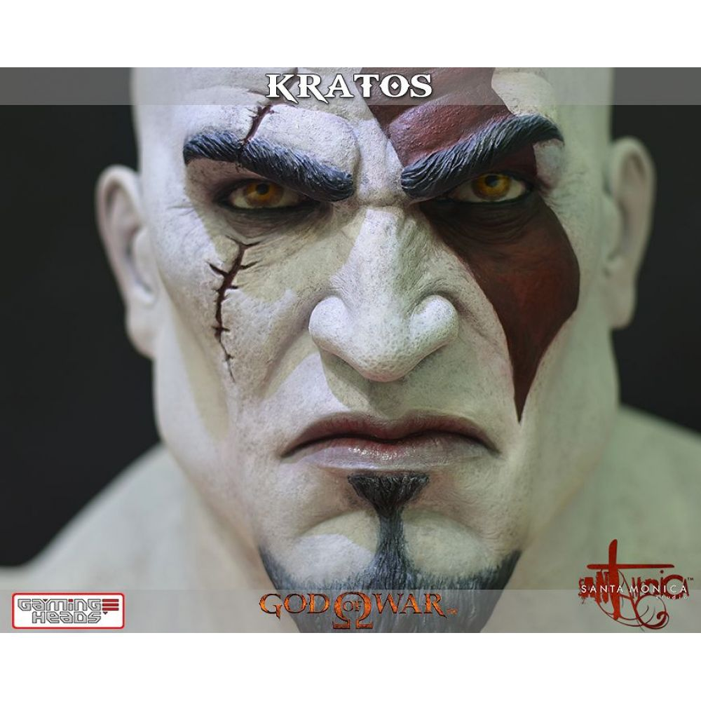 God of War Busto Kratos - Gaming Heads