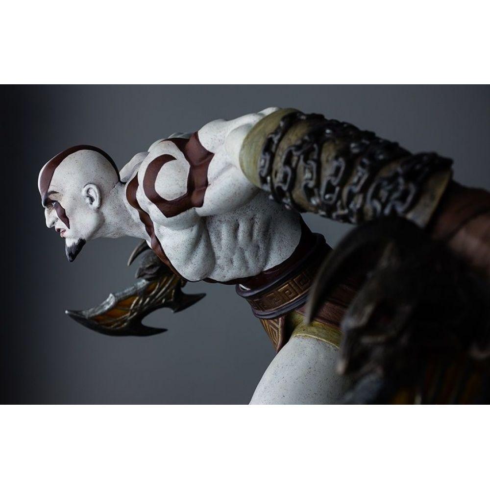God Of War Lunging Kratos Estátua Escala 1/4 - Gaming Heads