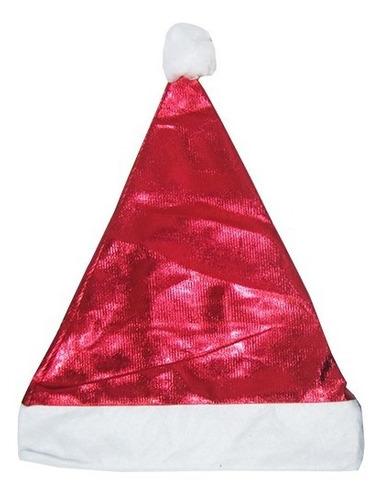 Gorro Natalino Brilhante Papai Noel Santa Claus Natal Christmas