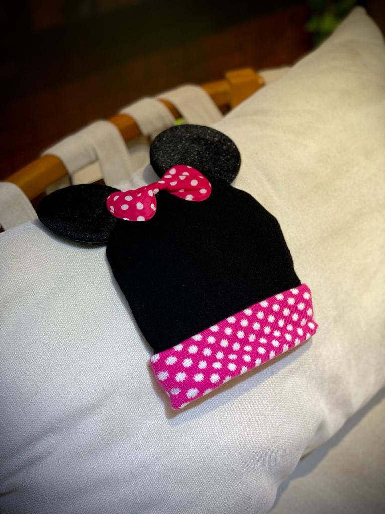 Gorro (Touca) Orelhas Minnie Mouse - Disney