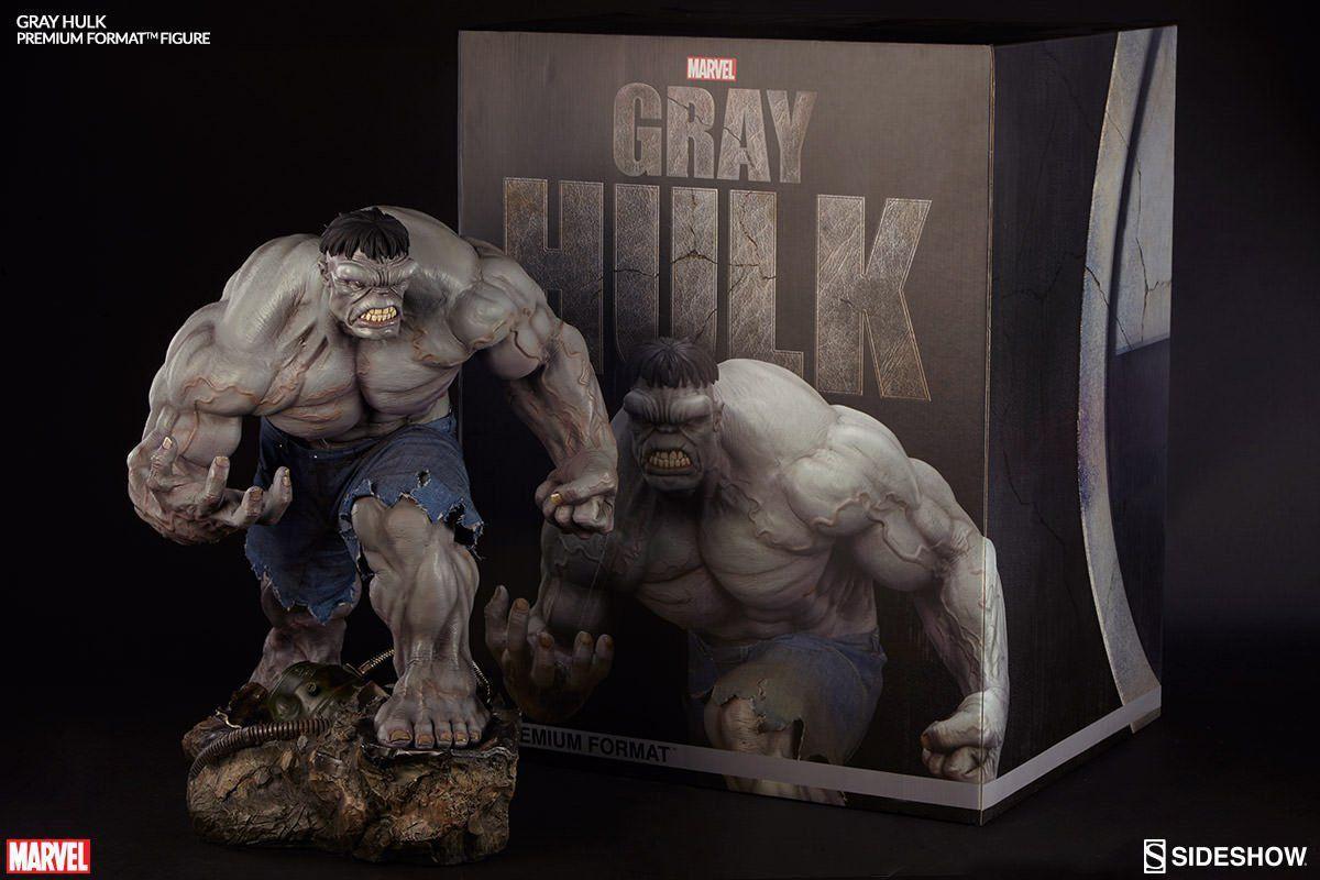 Estátua Hulk Grey (Cinza) Premium Format Escala 1/4 - Sideshow - CD