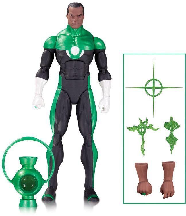 Green Lantern John Stewart Mosaic DC Icons - DC Collectibles