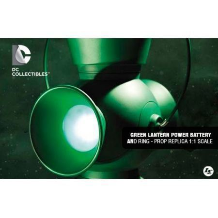 Green Lantern Power Battery & Ring 1:1 Scale Prop Replica (2013) - DC Collectibles