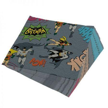 Guardanapo Batman e Robin Onomatopeias - DC Comics