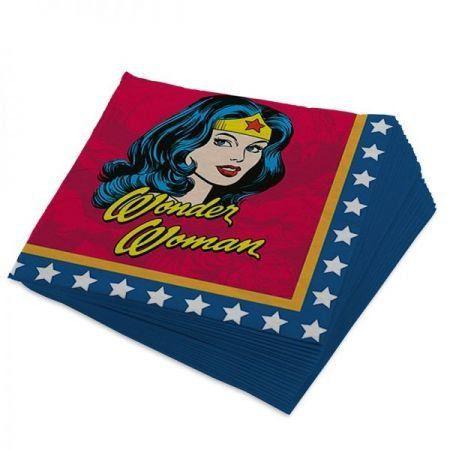 Guardanapo Mulher Maravilha - DC Comics