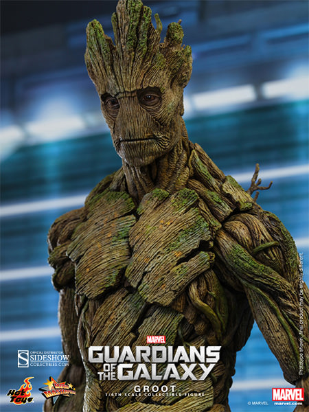 Action Figure Groot: Guardiões da Galáxia (Guardians of the Galaxy) MMS253 (Escala 1/6) - Hot Toys