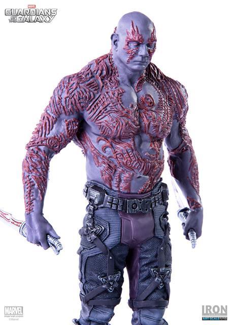 Guardiões da Galáxia: Drax Art Scale 1/10 - Iron Studios