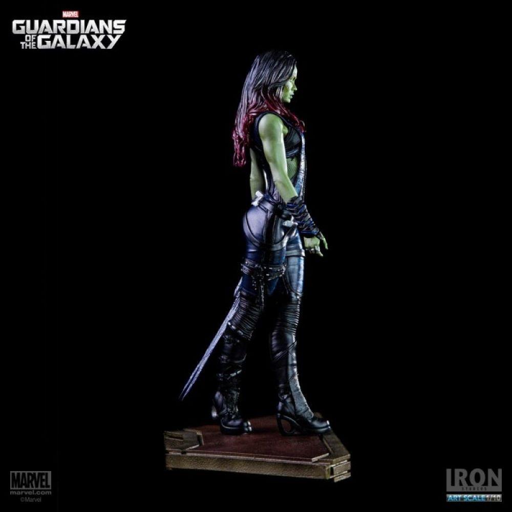 Estátua Gamora: Guardiões da Galáxia Escala 1/10 - Iron Studios - CD