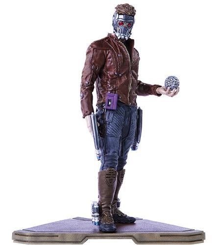 Guardiões da Galáxia: Star Lord Art Scale 1/10 - Iron Studios