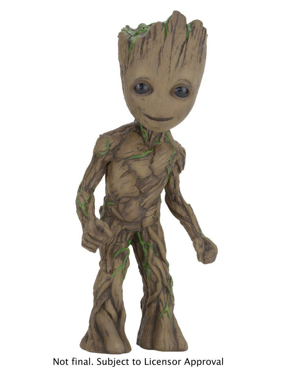 Boneco Baby Groot: Guardiões da Galáxia Vol.2 Foam Figure - NECA