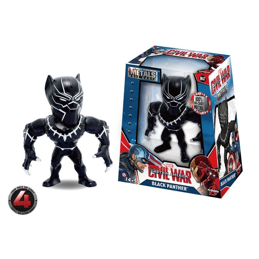 Guerra Civil: Black Panther Metals Die Cast (M47) - DTC
