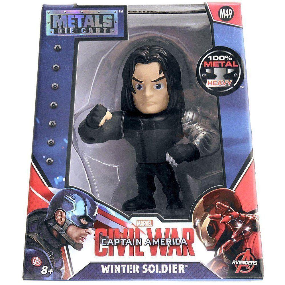 Guerra Civil: Winter Soldier Metals Die Cast (M49) - DTC