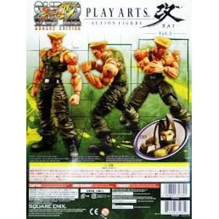 Guile Super Street Fighter IV Collectible Figure - Play Arts Kai