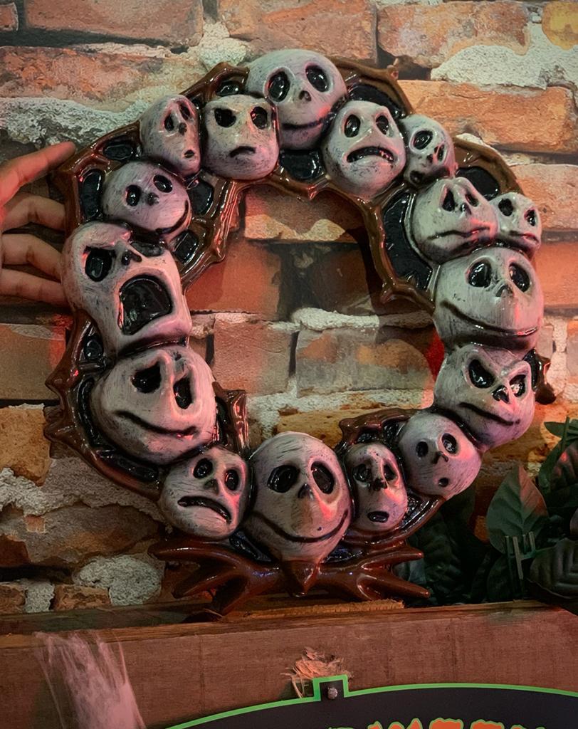 Guirlanda Decorativa 3D Jack Skellington: O Estranho Mundo de Jack