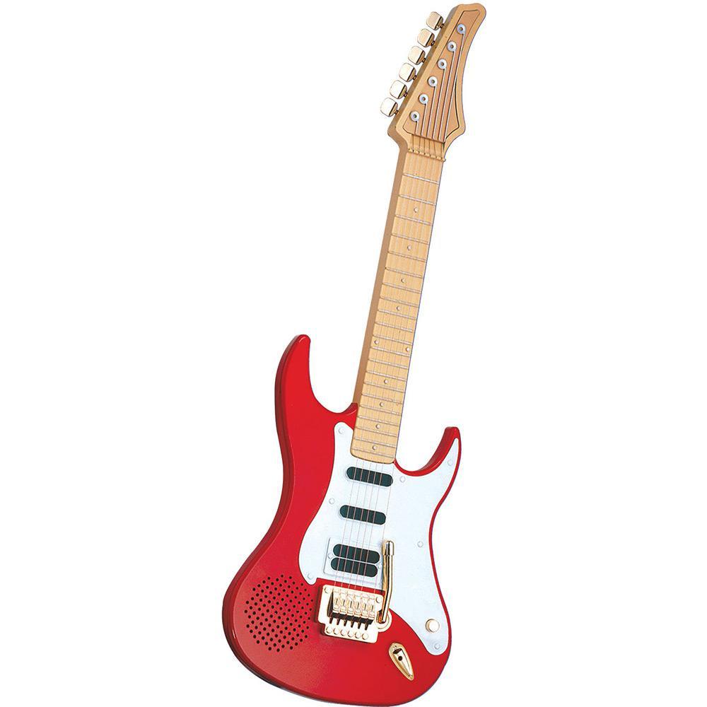 Guitarra Eletrônica (Vermelha) - DTC