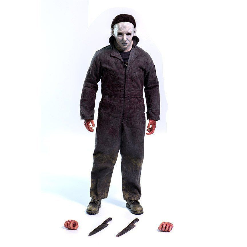 Action Figure Michael Myers: Halloween A maldição de Michael Myers: Escala 1/6 - Threezero
