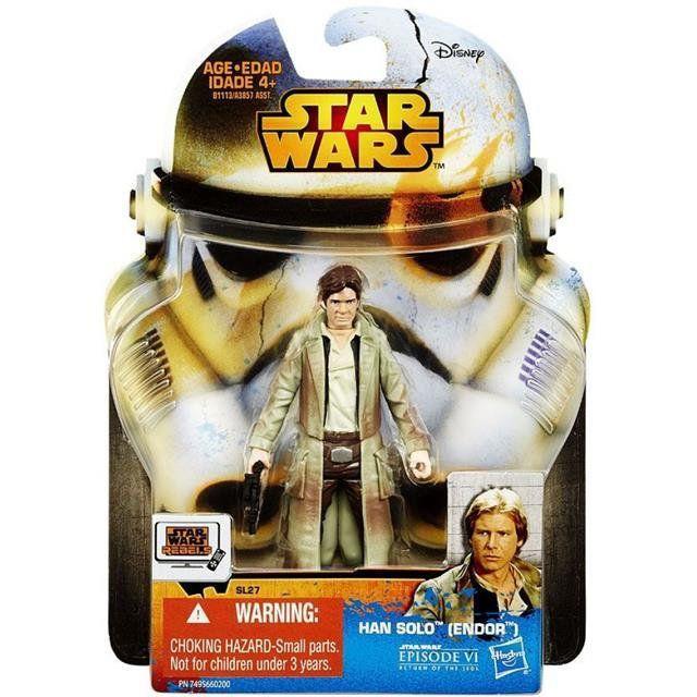 Han Solo (Endor) Star Wars Rebel - Hasbro